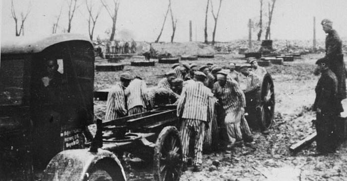 Fábrica en Auschwitz