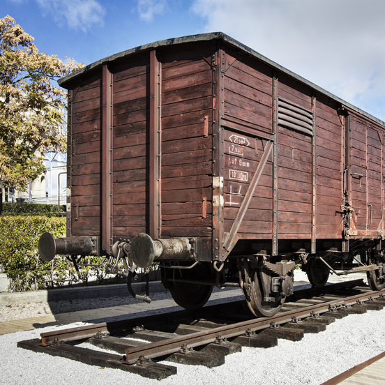 Vagón Auschwitz