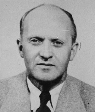 Klaas de Vries fue deportado al campo de concentración de Sachsenhausen en Alemania.