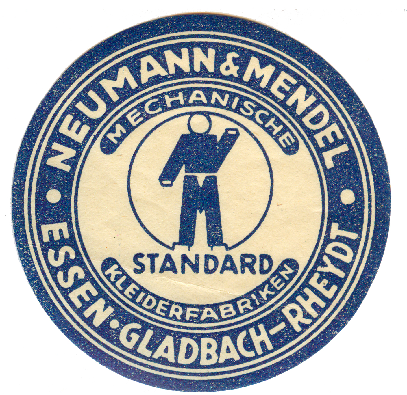 Neumann & Mendel Company Logo. © Wiener Library Photo Collection