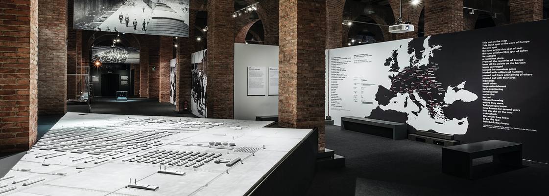 Vista interior de la exposición